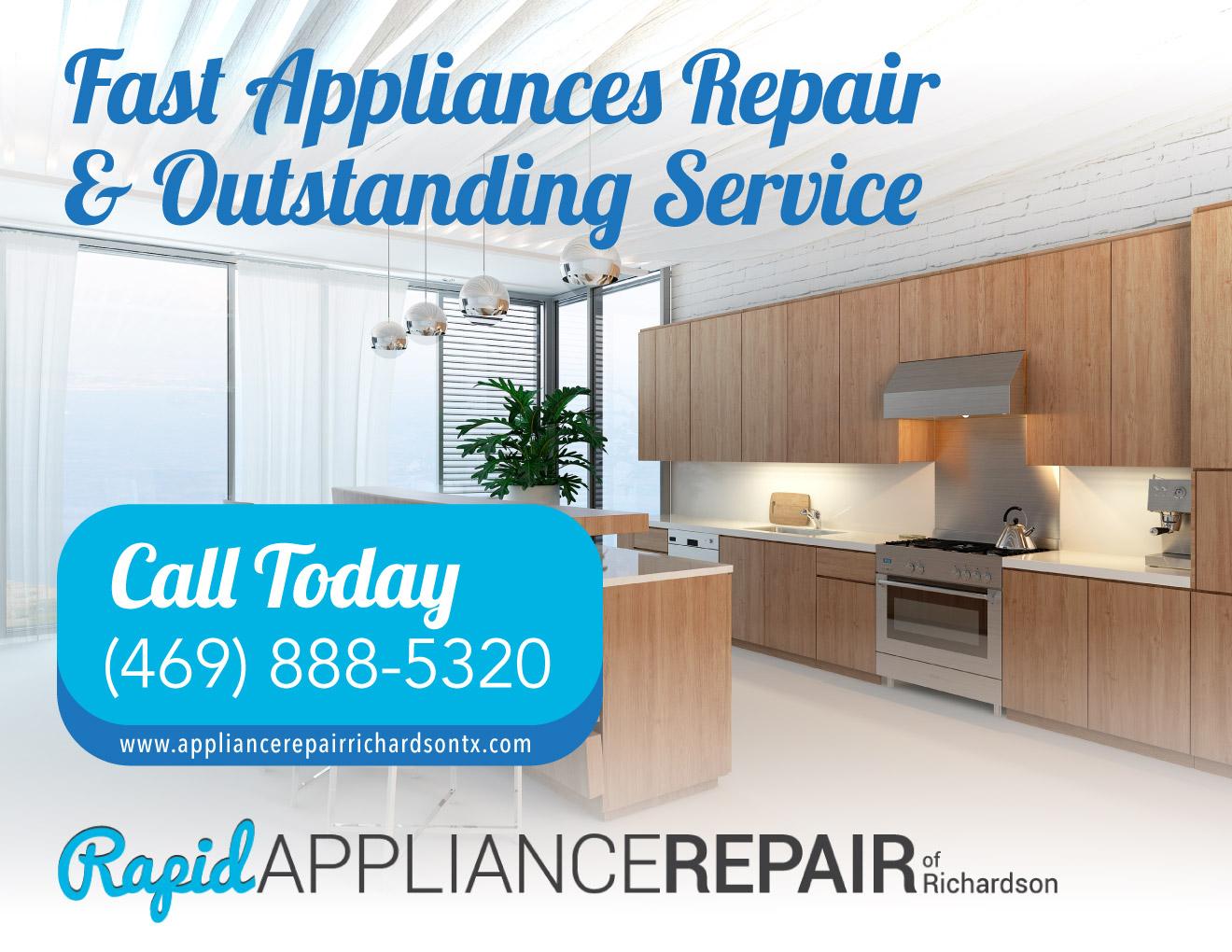 Rapid Appliance Repair of Richardson - (469) 888-5320